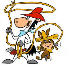 Quick Draw McGraw and Baby Louey.