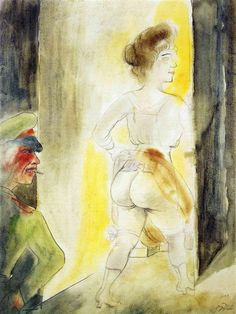 Myself in Brussels - Otto Dix - WikiArt.org