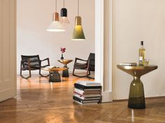 Rocking oak chair EUVIRA   Rope chair Euvira Collection by ClassiCon   design Jader Almeida