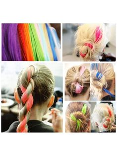 Color Fun Clip in Hair Extension