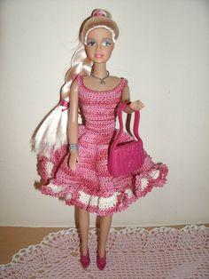 Voorbeeldkaart - Barbie jurk - Categorie: Haken - Hobbyjournaal uw hobby website