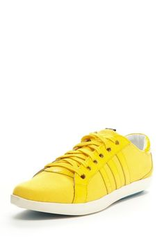 adidas SLVR Gym Low Yellow Sneaker #colorful #sneakers #shoes