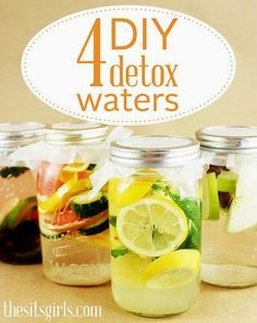Whether you're trying to lose weight or you simply want to look and feel healthier, one of the best ways to rid your body of harmful toxins is to drink water. These 4 detox water recipes will make your tastebuds (and the rest of your body) happy. I can't wait to try the berries, lime, and mint!