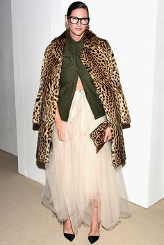 Lyons Just Wore the Cool-Girl Party Outfit of 2016 Jenna Lyons proves that it is completely acceptable to wear a tutu this party season. Throw a leopard print coat over your shoulders and you're good to go.Mad Season Mad Season can refer to: Girls Party Outfits, Cool Outfits, Bar Outfits, Vegas Outfits, Birthday Outfits, Woman Outfits, Birthday Dresses, Party Dresses, Vogue Fashion