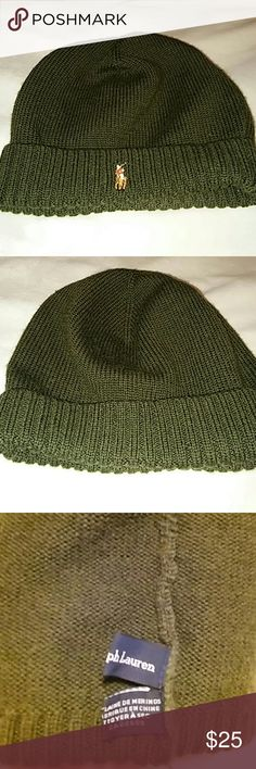 22bf3ff4 POLO Knit hat BNWOT. Flawless. Perfect. Polo by Ralph Lauren Accessories  Hats Knitted