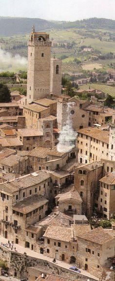 Italy | San Gimignano | Historic center | UNESCO World Heritage Site