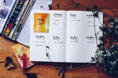 Bullet Journal weekly - reaktionista.se Bullet Journal