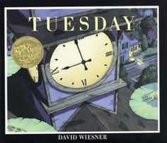 David Wiesner's Tuesday.  What do you think is in the sky tonight?