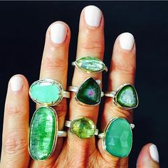Some of my favorite greens available @newtwiststore #whichonespeakstoyou…