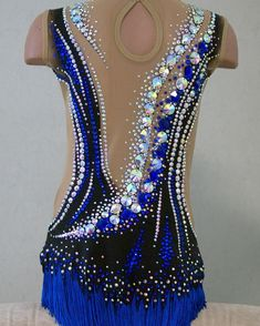 No photo description available. Rhythmic Gymnastics Costumes, Gymnastics Competition Leotards, Acrobatic Gymnastics, Ice Skating Dresses, Pointe Shoes, Dance Costumes, New Dress, Nice Dresses, Unique