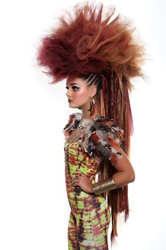 hair by mohh wwwmohhie photo absolute studios tribal avant garde meets arabic