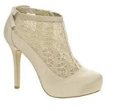 Resultado de imagen para zapatos de novia