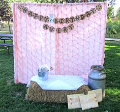 {DIY Tutorial} Outdoor Photo Booth | A Blissful Nest