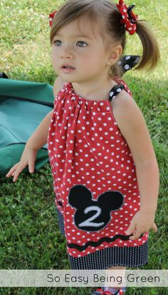 super cute mickey party dress