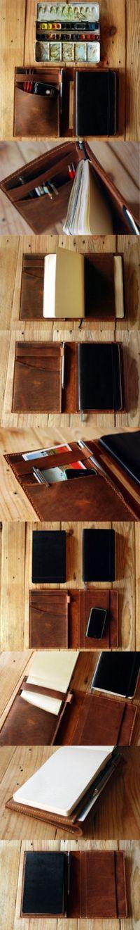 Large Moleskine cover and Ipad Mini cover door JustWanderlustShop