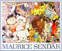 I was going through some books today and ran across some Maurice Sendak art. He was one of my favorites...so talented