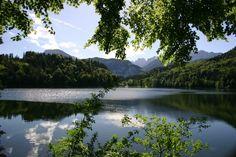 der Hechtsee in Tirol - nur ca. 10 Minuten zu Fuß vom Ortszentrum Kiefersfelden entfernt!