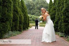 Wedding portraits, first see Sneak peek A Botanic Garden Wedding.  Memphis, TN www.twiceaschicweddings.com | 662-544-5552