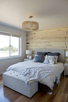 House Rules' final interior renovation - The Interiors Addict Master Bedroom Closet, Master Bedroom Design, Closet Bedroom, Teen Bedroom, Master Suite, Master Bedrooms, Home Management, House Rules, New Beds