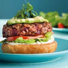 Burger végétarien du Camion qui fume : 65 recettes de hamburger maison - Journal…
