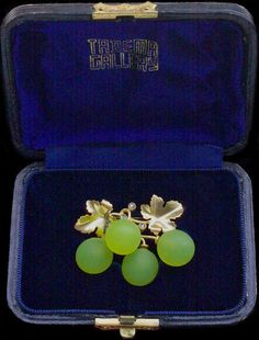 Belle Epoque Grape Brooch by FONSEQUE ET OLIVE - Tadema Gallery
