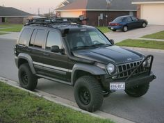 custom jeep liberty bumpers | LOST JEEPS • View topic - Old to New