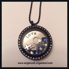 Personalized police locket. Can change out charms, add or take out any. Message me to order cookieswife2011@gmail.com