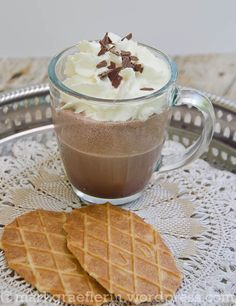 Mokka-Schokoladen-Shake zum Tag des Kaffees