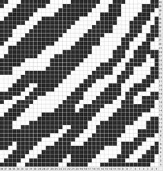 Tricksy Knitter by Megan Goodacre: Zebra Print