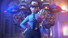 D.Va 4K Overwatch Officer Skin 3840x2160 wallpaper