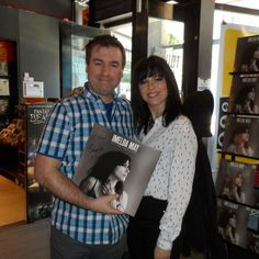 ..so happy to meet Imelda May today! @imeldaofficial @towerrecordsdublin #libertiesgirl #imeldamay  #towerrecords #dublin #vinyl #vinyllife #singers #recordcollector #33rpm #instavinyl #vinylcollector #lps #vinyligclub #vinylcommunity #vinyljunkie #vinyloftheday #vinylcollection #vinylgram #greatsounds #records #music #instalike #recordcollection #album #albumcover #albums #instapic #irishsinger #lifelovefleshblood #imeldaofficial
