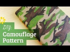 Tutorial on how to make a camouflage pattern.