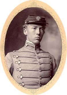 Patton at Virginia Military Academy prior to West Point