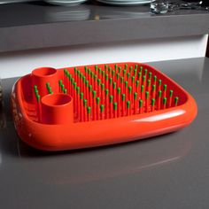 Dish Doctor Orange now featured on Fab. I WOULD TOTALLY LOVE THIS FOR MY KITCHEN!!!