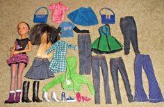 BARBIE DOLL SIZE - SPINMASTER LIV DOLL w/ CLOTHES, SHOES & ACCESSORIES in  | eBay!