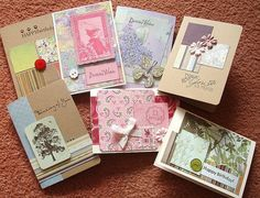 cards Buttons for Christmas cards Quick lovely card if using beautiful patterned paper. 2013.04.15-EllenHutson.jpg 600×725 pixels Baby card ...