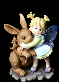 chocolate bunny kitchen fairy