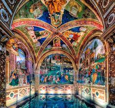 Pinturicchio- Cappella Baglioni Spello 1500-1501