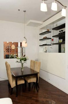 Brick Feature Wall, Espresso Kitchen, Radiant Heat, Bedroom Loft, Lofts, Toronto, The Neighbourhood, Dining Table, The Unit
