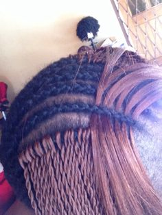Crochet Braid Senegalese Twist. Much safer on hair than traditional Senegalese.