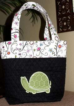 "Turtle ""Honu"" Tote Bag/Diaper Bag/Everyday Bag -- ""My Little Honu"" on Etsy, $45.00"