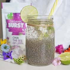 Combat the heat (whether it's from central heating or if you live in hotter climes!) with our super-hydrating chia. This delicious Chia Fresca is a Mexican clas