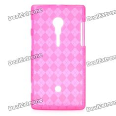 Material: TPU; Color: Translucent magenta; Qty: 1; Compatible Model: Sony Ericsson LT18i; Features: - Protects your device from scratches, dust and shock; Packing List: 1 x Case; http://j.mp/1ljOTjs