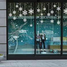 DIY White Snow Christmas Wall Stickers Window Glass Festival Decals Santa Murals New Year Christmas Decorations for Home Decor christmas window Christmas Window Stickers, Wall Stickers Window, Christmas Window Decorations, Santa Decorations, Wall Decals, Sticker Vinyl, Vinyl Art, Wall Vinyl, Christmas Snowflakes