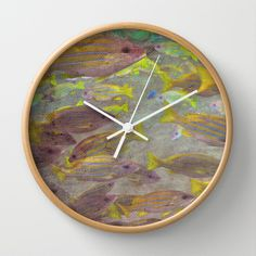 Traffic Jam Wall Clock by Lisa Argyropoulos Best Wall Clocks, Tic Toc, Cool Walls, Lisa, Home Decor, Decoration Home, Room Decor, Home Interior Design, Home Decoration