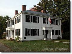 Ralph Waldo Emerson House. Concord, MA. New England's Federal Architecture