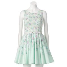 LC Lauren Conrad Floral Fit & Flare Dress - So sweet.