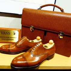 http://chicerman.com  ascotshoes:  We sell briefcase matching the leather of our Vass shoes. I   We are an online shoe shop based in the UK that specialise in hand made Vass Shoes. Please email Sammy for no obligation advice on Sizing Fitting Made To Order MTO Stock & Prices. All our Vass shoes are individually hand stitched with the upmost attention to detail and aesthetically finished to meet all client needs. Certain models are available immediately. I  EMAIL- Ascotshoes@outlook.com…