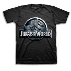 Men's Jurassic World Logo T-Shirt - TshirtMall.com