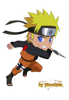 Chibi Uzumaki Naruto by Marcinha20.deviantart.com on @DeviantArt